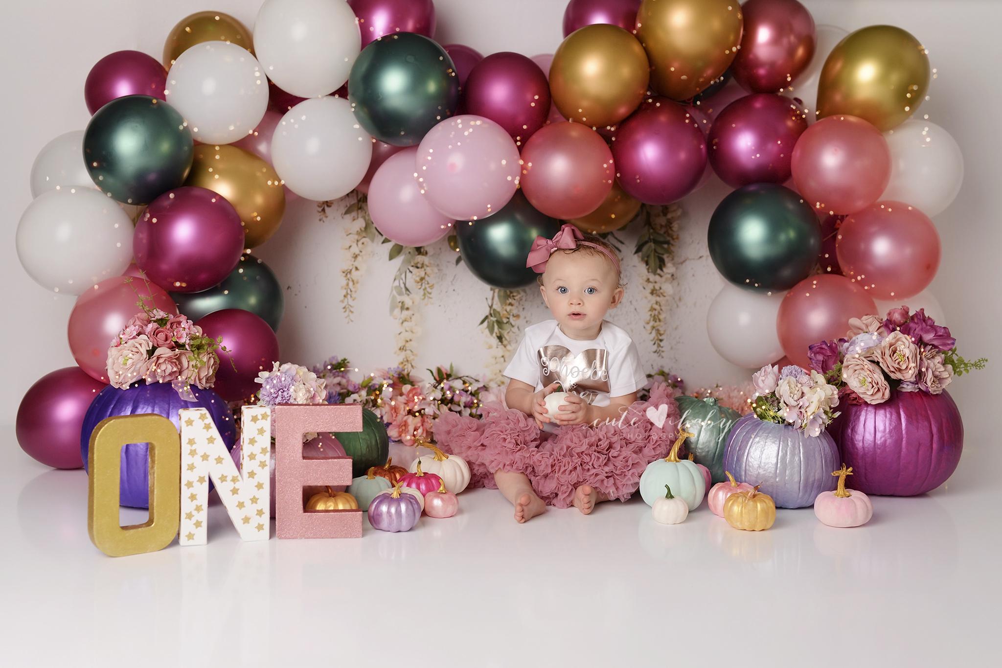 cake smash Manchester, Baby Photography Manchester, 1st Birthday photography, Cake Smash Pumpkin