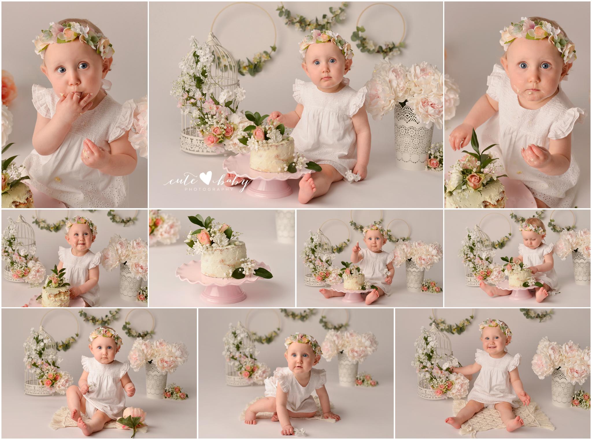 cake smash Manchester, Baby Photography Manchester, 1st Birthday photography, Cake Smash Boho