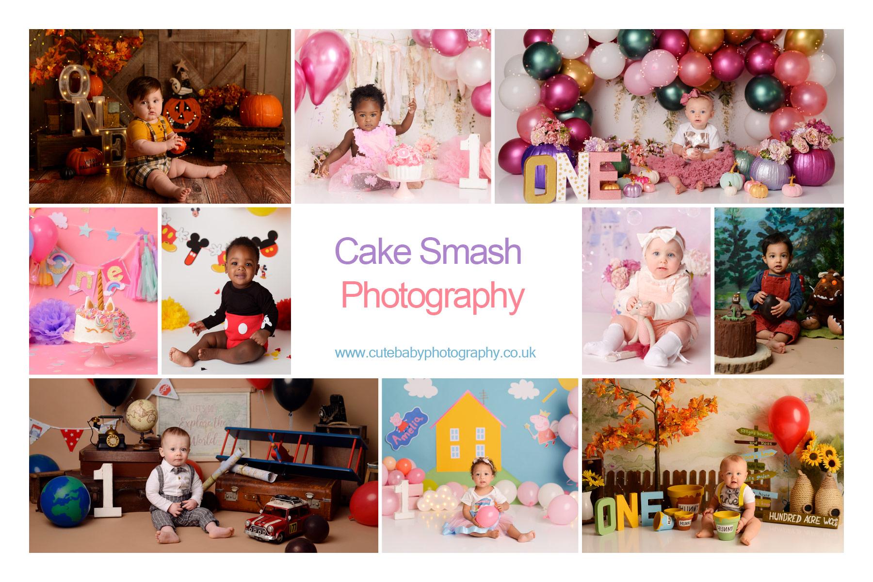 cake smash Manchester, Baby Photography Manchester, 1st Birthday photography, Cake Smash Winnie the Pooh